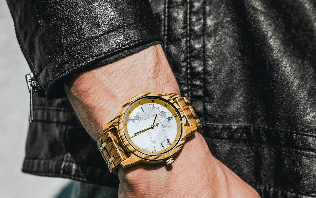 Horizon Collection: Of Marble and Men | Modern Wooden Watches