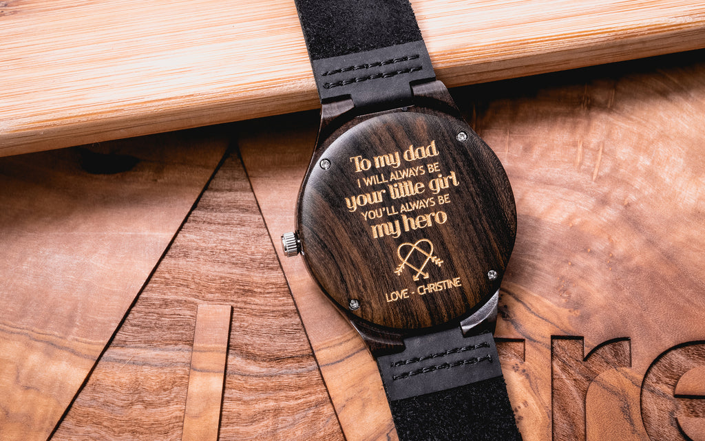 Best Engraved Watch for Dad | Top 50 engravings for Christmas gift for Dad