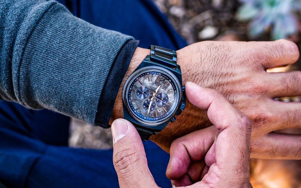 The New Aster Collection | Wood + Stainless Steel Watch For Men