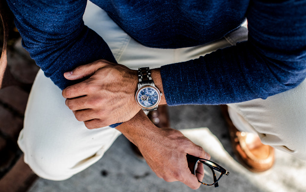 Improb Magazine Feature: 8 Best Marble Watches For Men