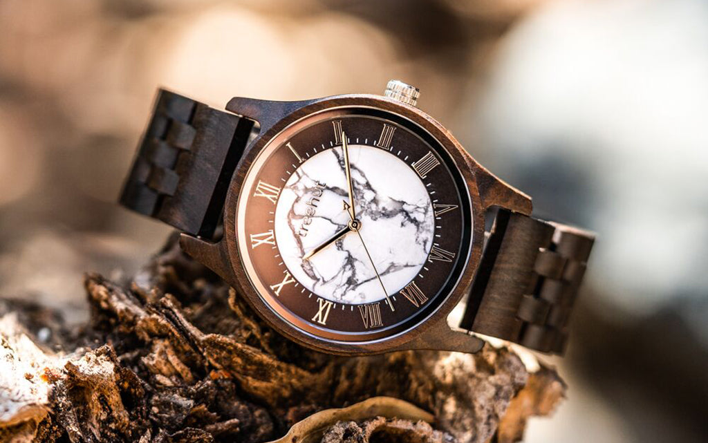 The New Sojourn Collection | Wood + Marble Watch For Men