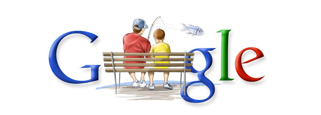 Father's Day North America 2006 Google Doodle