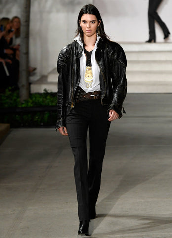 kendall jenner in ralph lauren nyfw on treehut blog