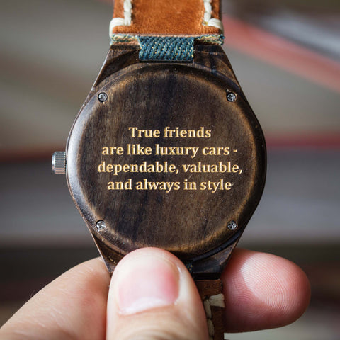 True friends are like luxury cars - dependable, valuable and always in style