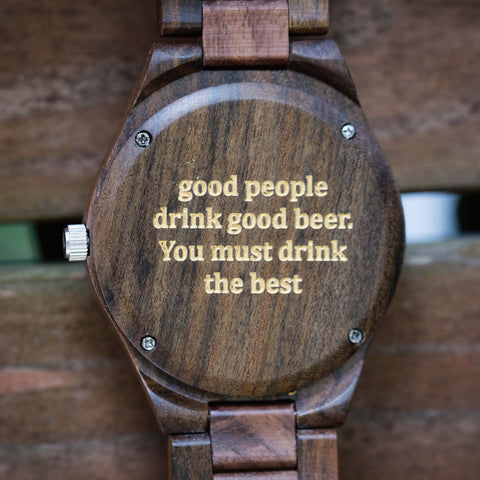good people drink good beer you must drink the best