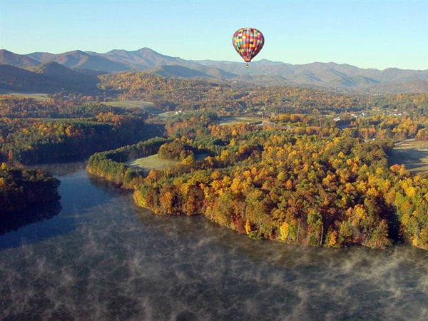 Asheville, North Carolina hot air balloon rides