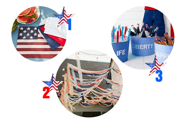 How to Host the Most Patriotic 4th of July Cookout | Decorations