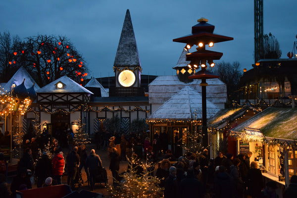 Copenhagen, Denmark Christmas Market from Treehut Blog post