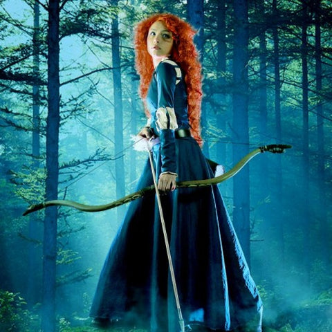 Princess Merida from Disney Brave