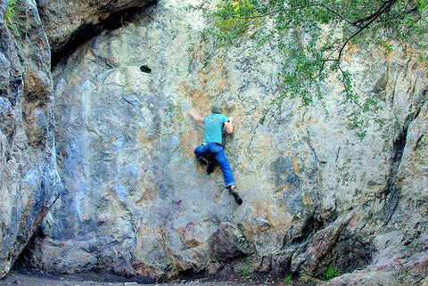 Beginner's Guide to the Best Outdoor Spots to Rock Climb in the San Francisco Bay Area, Indian Rock Berkeley Bouldering | Content Courtesy of Tree Hut Wooden Watches