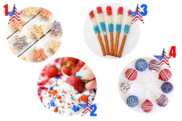How to Host the Most Patriotic 4th of July Cookout | Dessert Recipes