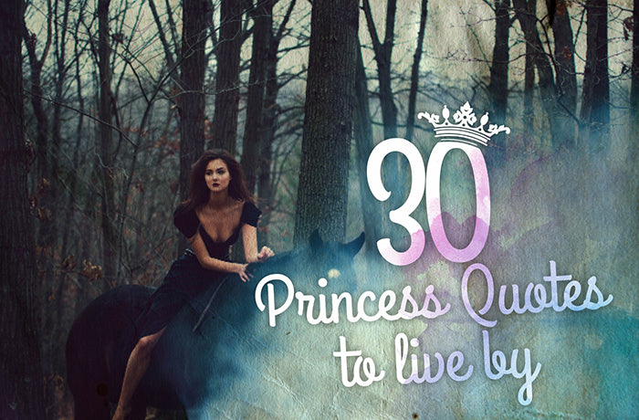 Engraving Inspiration: 30 Princess Quotes to live by