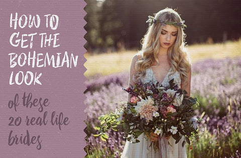 how to get the bohemian bide look