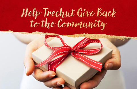 help treehut give back to the community