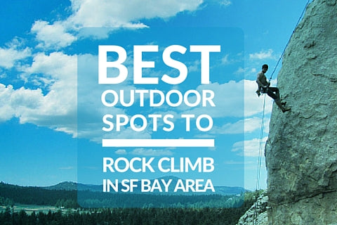 Beginner's Guide to the Best Outdoor Spots to Rock Climb in the San Francisco Bay Area | Content Courtesy of Tree Hut Wooden Watches