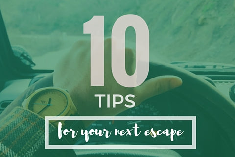 List of Tips for Your Next Escape, Things to Do on Vacation