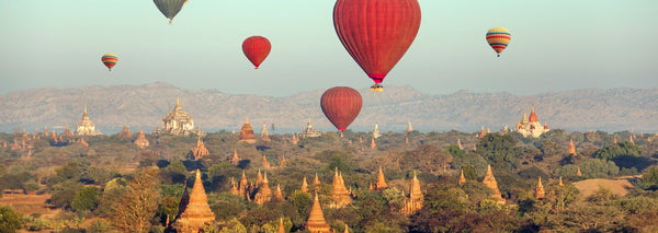 Angkor Wat, Cambodia hot air balloon rides