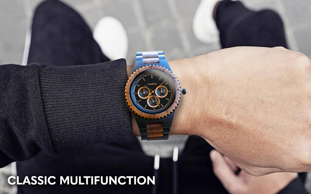 Classic Multifunction Walnut Ebony