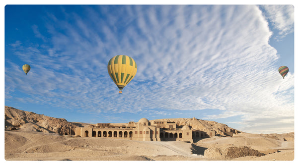Luxor, Egypt hot air balloon rides