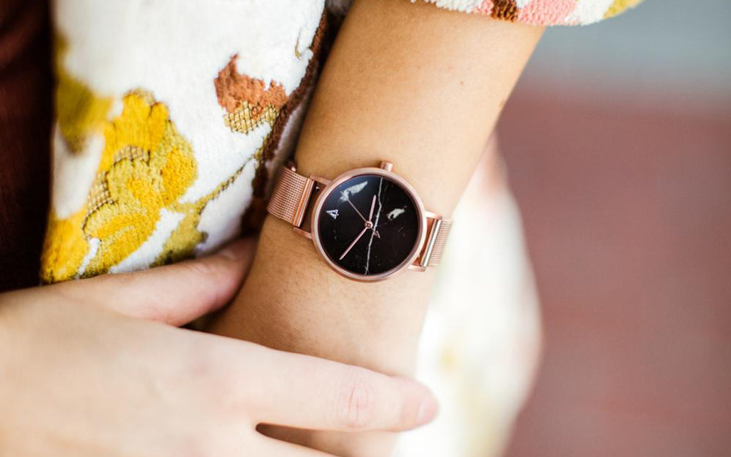 Element Collection Rose Gold Watch For Women