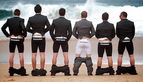 Hilarious Groomsmen Photo Ideas