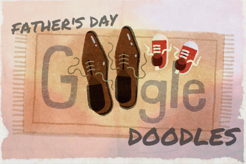 Father's Day Google Doodles Over the Years
