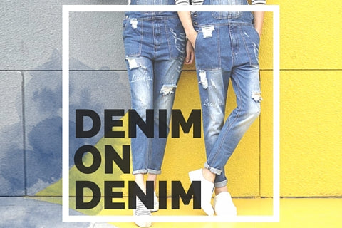 denim on denim guidelines for girls and guys