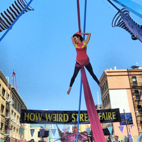 What is How Weird Street Faire