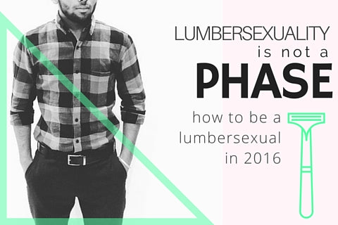 Lumbersexual Fashion | What is a Lumbersexual? | Lumbersexual Haircut | Treehut Wood Watches