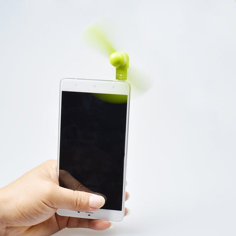 Portable Fan Connects to iPhone Android Phone
