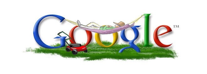 Father's Day 2003 Google Doodle