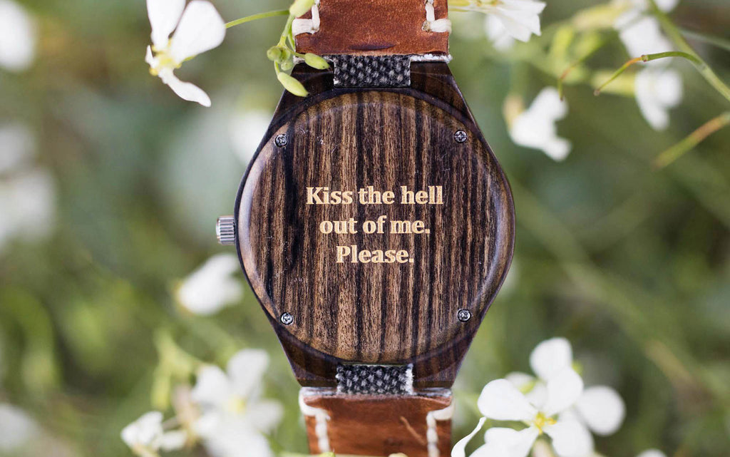 Create Your Own Engraved Watch