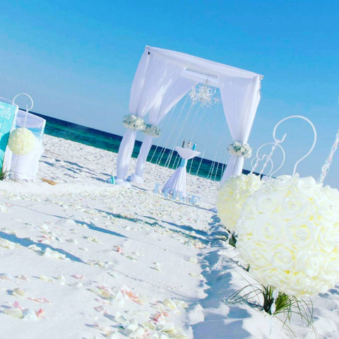 destin Florida beach wedding