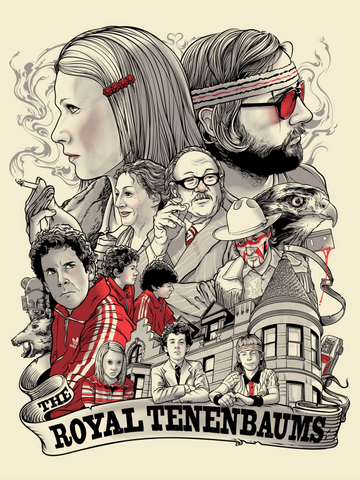 movies to watch with dad, the royal Tenenbaums