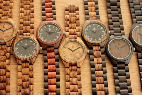 all wood watch selection at treehutco