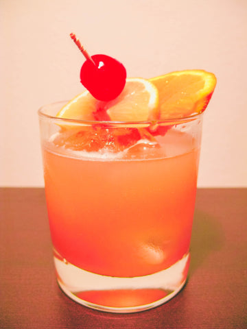 11 Tasty Recipes for a Fathers Day Cookout: Cherry Whiskey Sour Cocktail