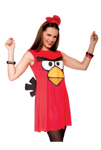 group costume idea for bay to breakers - angry bird