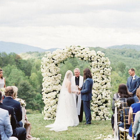 blackberry farm walland tn, outdoor wedding