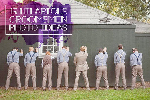 Funny Groomsmen Photos