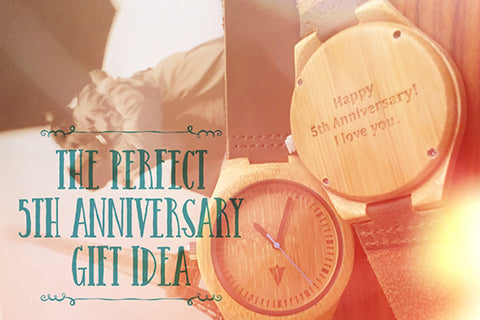 The Perfect 5th Anniversary Gift Idea: A Wood Watch | Sponsored by Tree Hut Wooden Watches