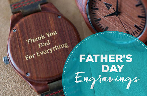 Father's Day Engraving