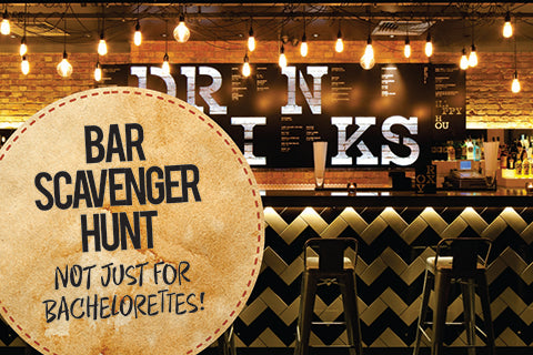bar scavenger hunt