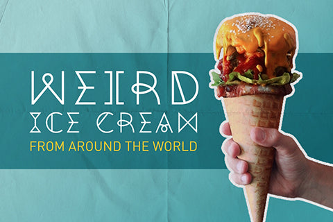 weird ice cream from around the world