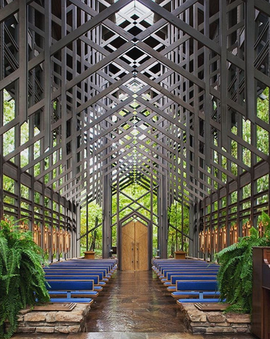 Best outdoor wedding venues in the us thorncrown chapel in eureka springs arkansas junglespirit Image collections