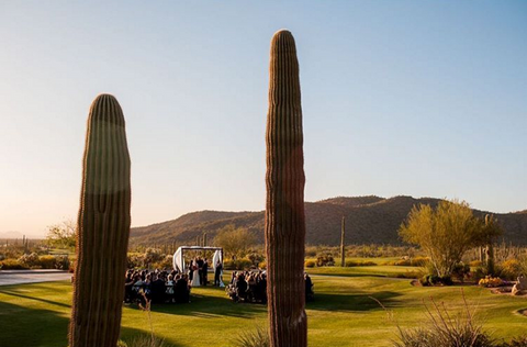 dove mountain, best outdoor wedding venues