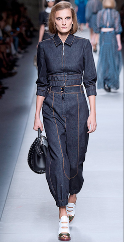 Fendi 2016 Spring Summer Line - Denim on denim