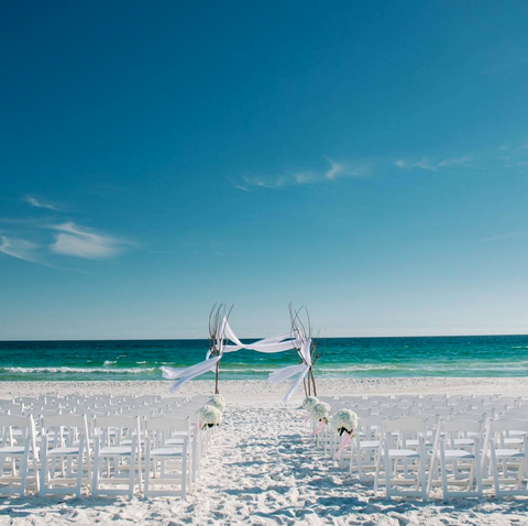 destin florida beach wedding venue