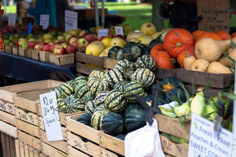 Local Farmer's Market Produce, Fruits, Vegetables for Sale