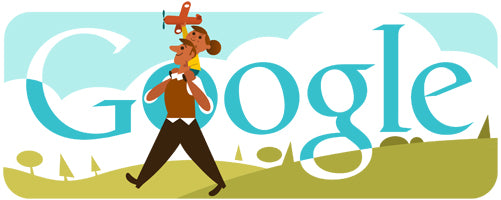 Father's Day 2013 Poland Google Doodle