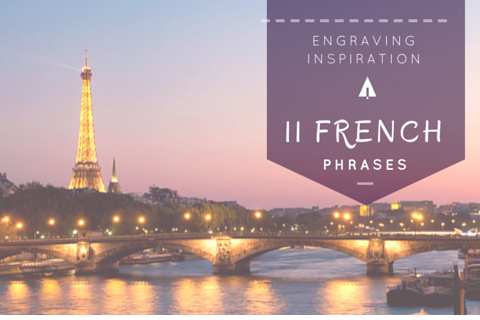 11 French Love Phrases | Treehut Wooden Watch Engraving inspiration